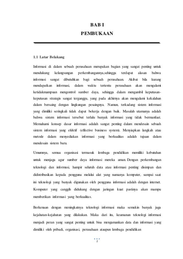 Makalah Sistem Informasi Manajemen Perancangan Sistem Informasi Pen