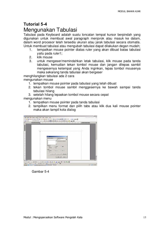 aplikasi perangkat lunak pengolah informasi