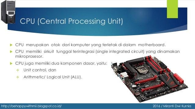 Perangkat Proses Dan Pendingin