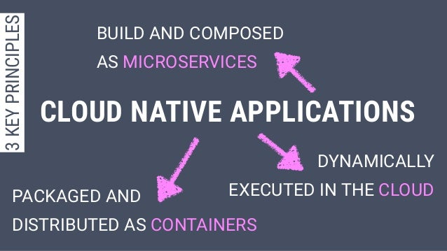 PACKAGED AND DISTRIBUTED AS CONTAINERS BUILD AND COMPOSED AS MICROSERVICES DYNAMICALLY EXECUTED IN THE CLOUD CLOUD NATIVE ...