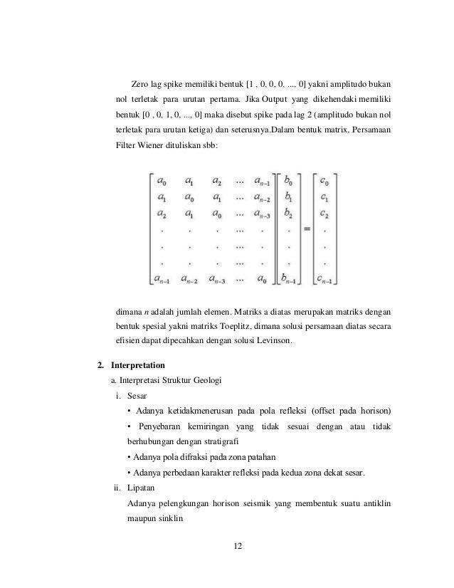 Zero lag spike memiliki bentuk [1 , 0, 0, 0, ..., 0] yakni amplitudo bukan nol terletak para urutan pertama. Jika Output y...