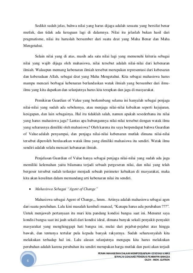 essay peran mahasiswa dalam mencerdaskan kehidupan bangsa