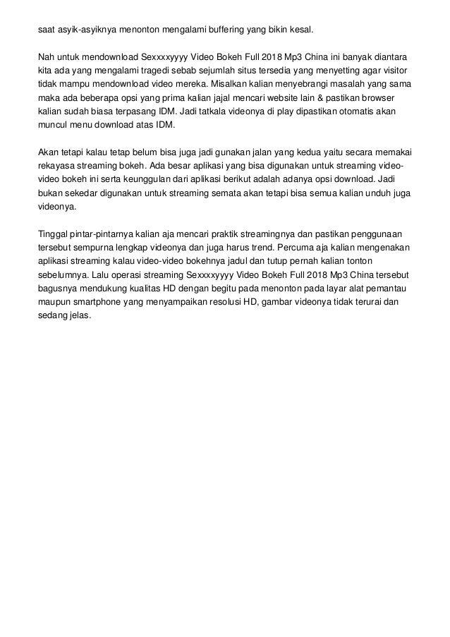 Jalan Memulai Blokir Website Website Video Bokeh