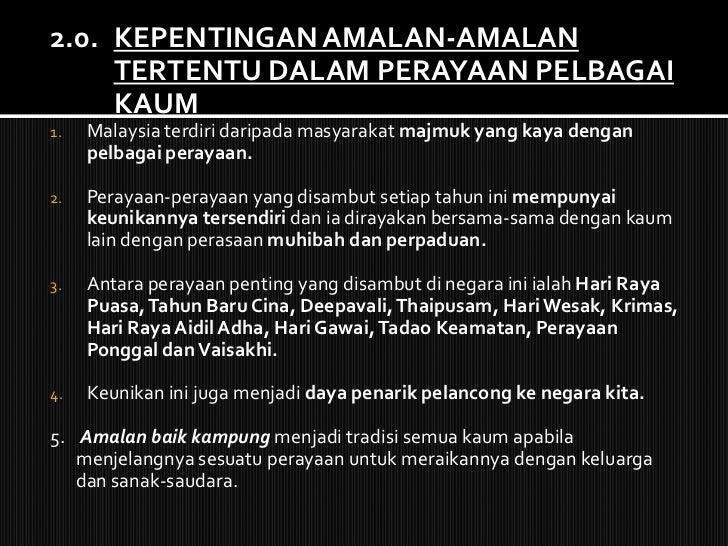 Perayaan Yang Terdapat Di Malaysia