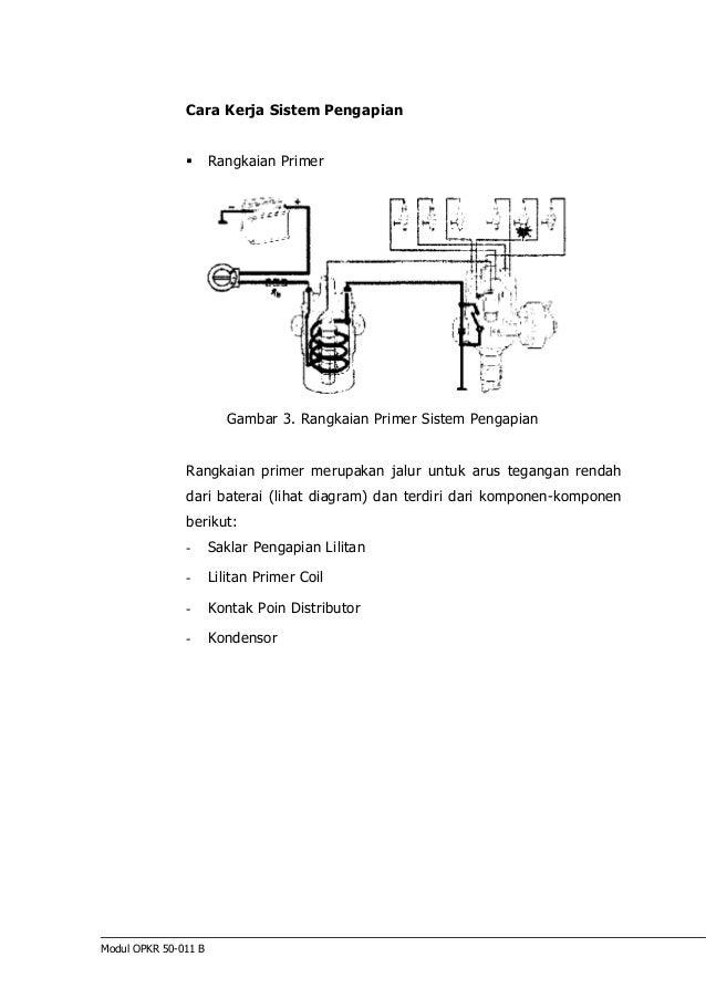 Perbaikan sistem pengapian modul opkr 50 011 b 28 cara kerja sistem pengapian rangkaian primer gambar ccuart Gallery