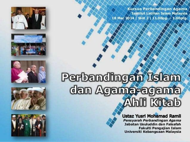 Powerpoint Templates Page 1 Pensyarah Perbandingan Agama Jabatan Usuluddin dan Falsafah Fakulti Pengajian Islam Universiti...