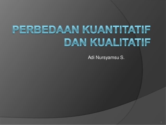 Adi Nursyamsu S.1