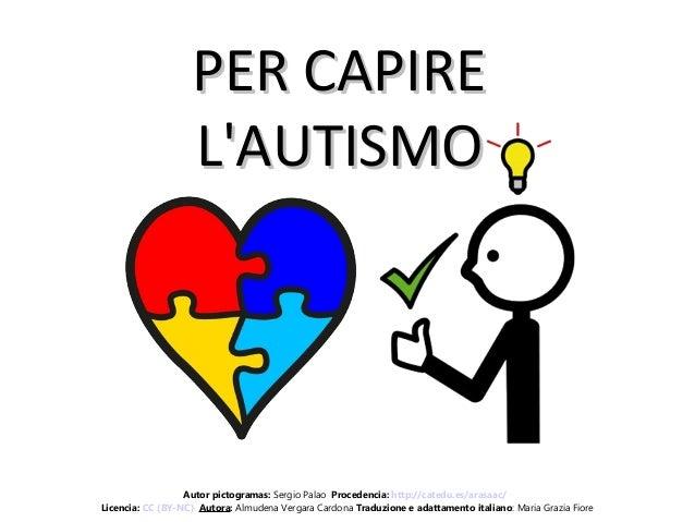 PER CAPIREPER CAPIRE L'AUTISMOL'AUTISMO Autor pictogramas: Sergio Palao Procedencia: http://catedu.es/arasaac/ Licencia: C...