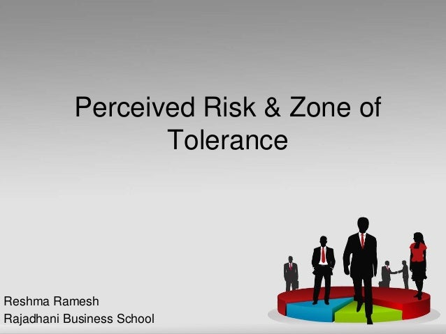 Perceived Risk & Zone of Tolerance Reshma Ramesh Rajadhani Business School