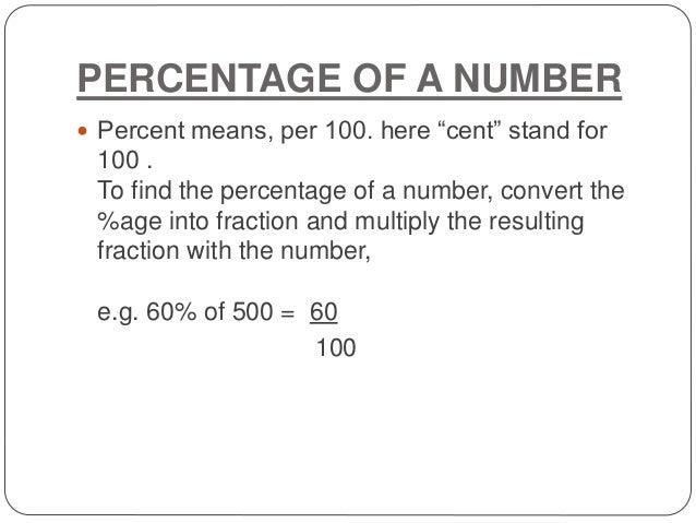 Percentage Amp Profit And Loss