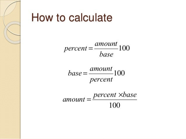 how to find the percentage of a number In this arithmetic basics tutorial the author shows how to find the percentage of a number he says that if we find the percentage of a number where the percentage is less that 100, then the value of the number reduces.