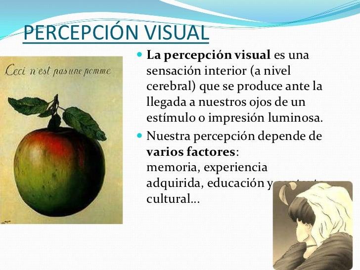 Percepción visual y observación Slide 3