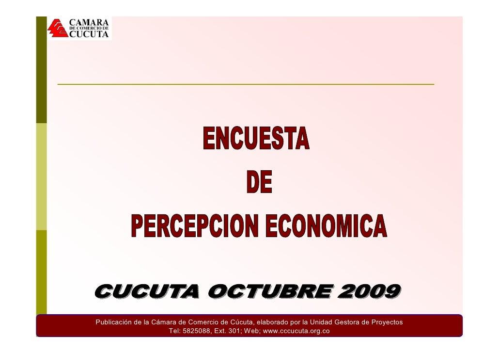 Publicación de la Cámara de Comercio de Cúcuta, elaborado por la Unidad Gestora de Proyectos                       Tel: 58...