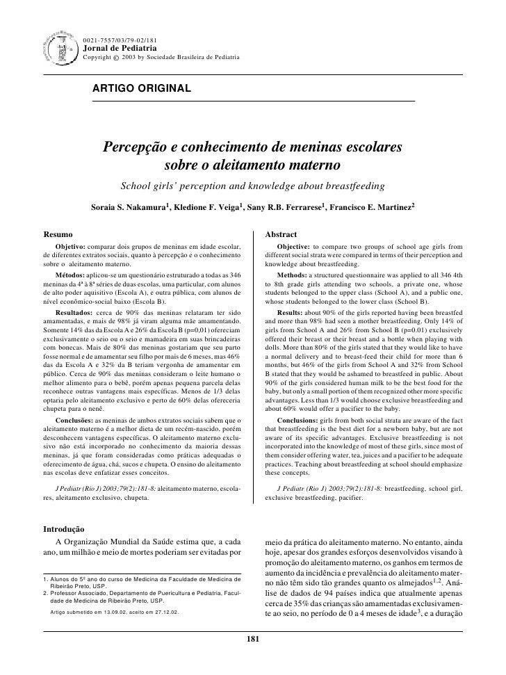 0021-7557/03/79-02/181                                                                 Jornal de Pediatria - Vol. 79, Nº2,...