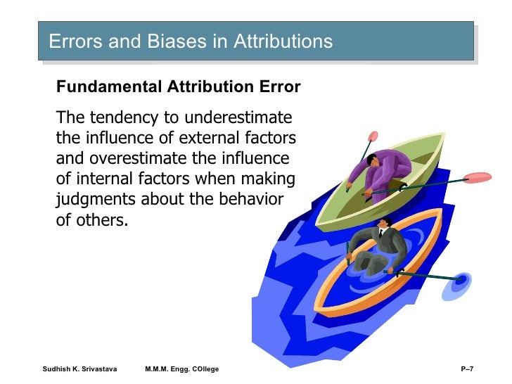 implications of attribution theory for explaning organizational behavior Organizational theory  organizational behavior and perception what's true for you and for your friend, is true for organizations  organizational perception and attribution bias.