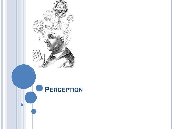 Perception<br />