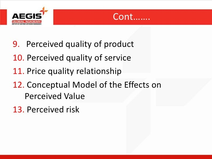 impact of product price and brand name on quality perception essay How does consumers' perception influence brand equity - essay example the demand for quality beauty products has increased significantly the impact of price changes on the brand equity of toyota in saudi arabia.
