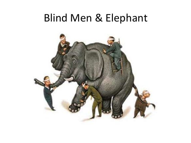 blind men and the elephant poem by john godfrey saxe essay The tale of the elephant and the six blind men was made popular in the west by  the 19th-century poet john godfrey saxe, who wrote the.