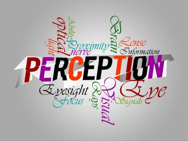 What is Perception • Perception is the process through which people take raw sensations from the environment and interpret...
