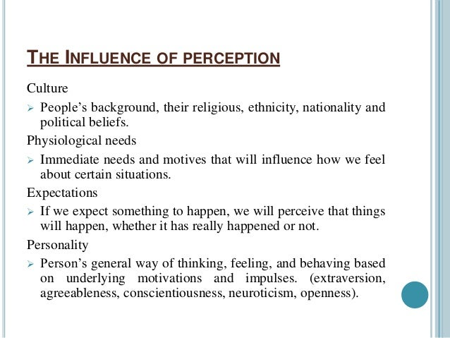 perceptual errors in stereotyping Chapter 4 – individual perception, judgment these perceptual errors based on stereotypes may individual perception.