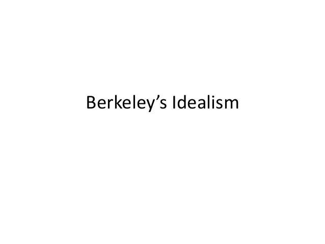 Berkeley's Idealism