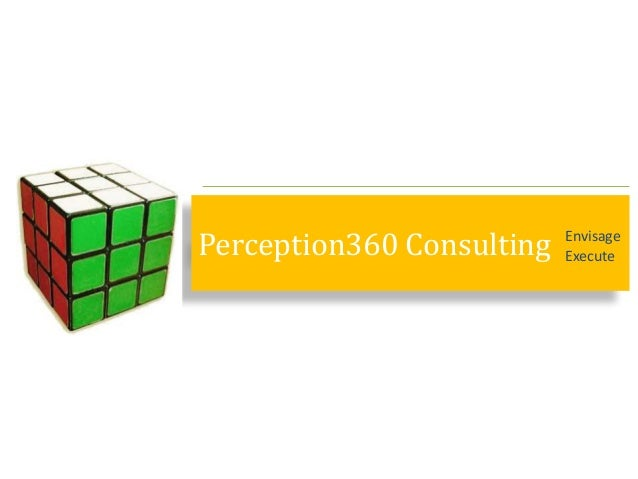 Perception360 Consulting Envisage Execute