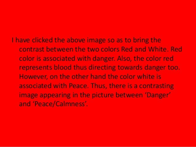 How the Color Red Influences Our Behavior