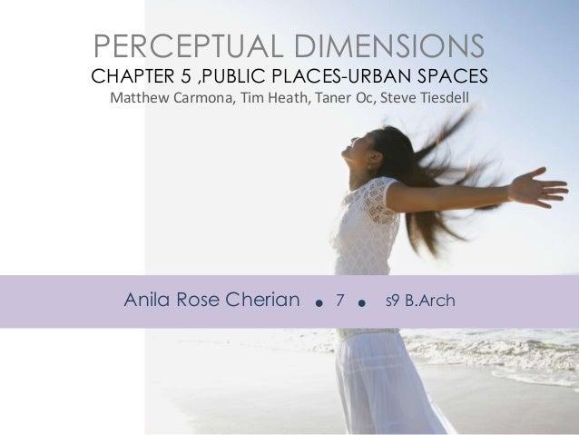 Public Places Urban Spaces Pdf