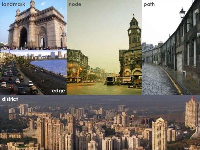 landmark  node  edge district  path
