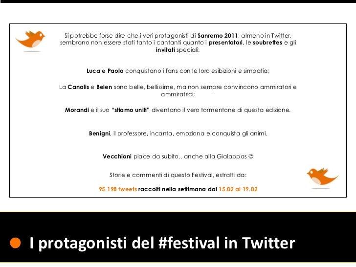 Perchè Sanremo é Sanremo -Twitter post-Festival Slide 2