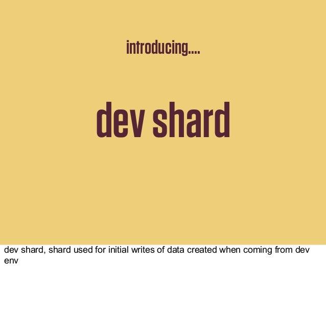 tickets indexshard1 shard2 shardN