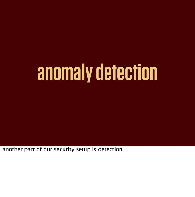 loggingbasics of anomaly detection is log collection