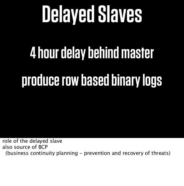 R/W R/WSlaveShardPairpt-slave-delay