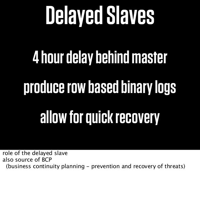 R/W R/WSlaveShardPairpt-slave-delayrowbasedbinlogs