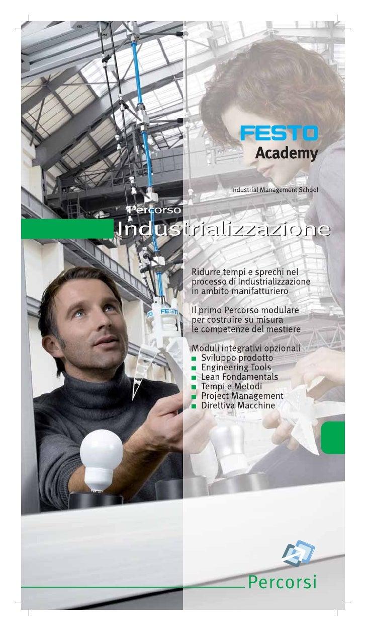 Industrializzazione Festo Academy