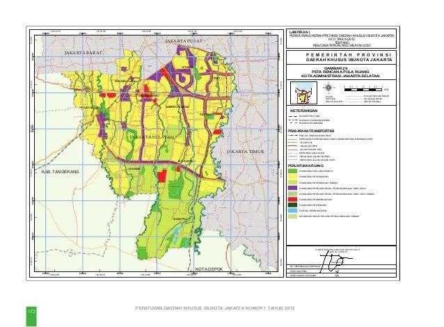 PERDA DKI Jakarta No. 1 Tahun 2012 Tentang Rencana Tata Ruang Wilayah Tahun 2030