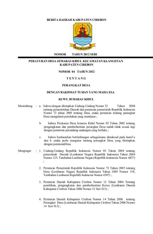 tugas pokok dan fungsi pemerintah desa - Media Informasi ...