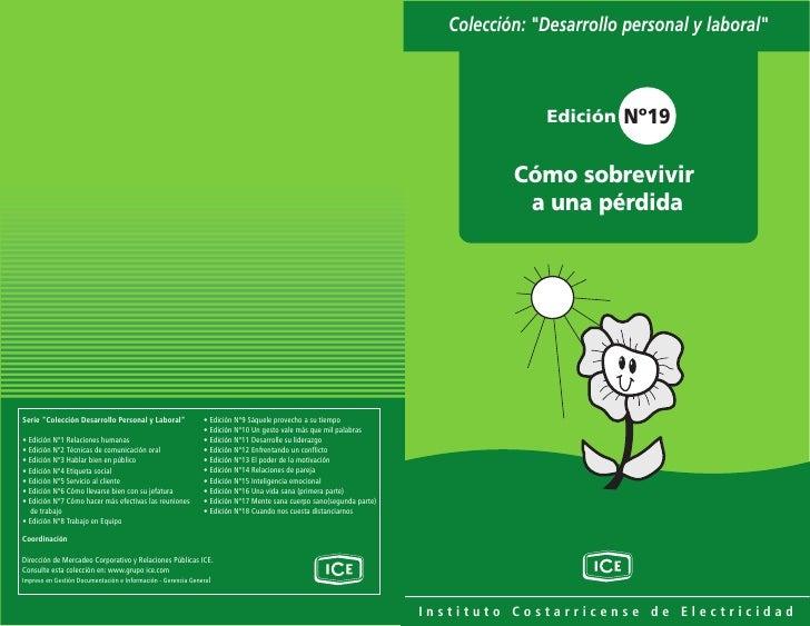 """Colección: """"Desarrollo personal y laboral""""                   Edición Nº19              Cómo sobrevivir             a una p..."""