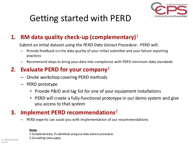 CCPS PERD Project