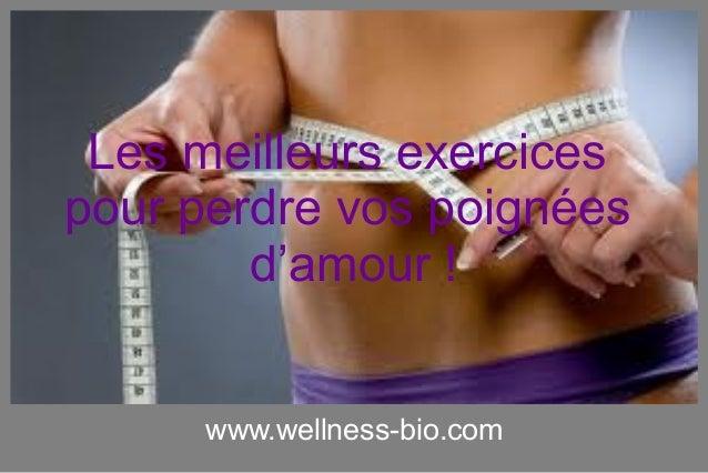 www.wellness-bio.com Les meilleurs exercices pour perdre vos poignées d'amour !
