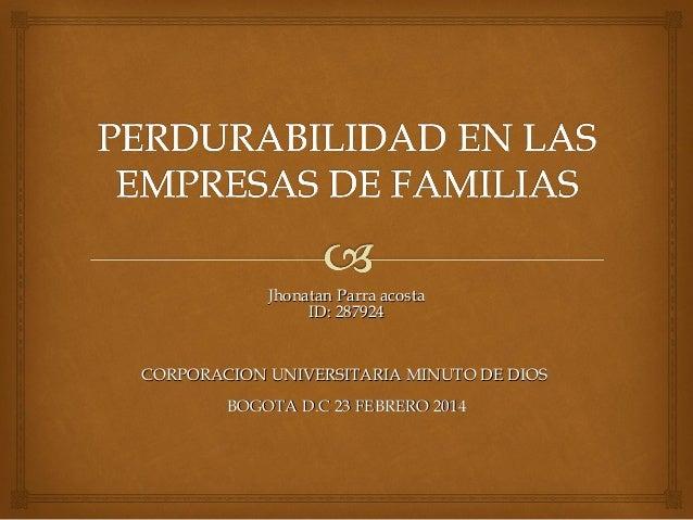 Jhonatan Parra acostaJhonatan Parra acosta ID: 287924ID: 287924 CORPORACION UNIVERSITARIA MINUTO DE DIOSCORPORACION UNIVER...