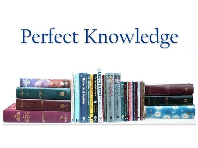 Secrets of Success   Perfect Knowledge