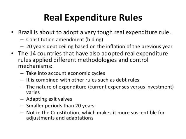 Fiscally sound social inclusion: what, if any, lesson may EMU learn from the Brazilian experience of fiscal and political centralization? (by Carlos Pereira) Slide 3