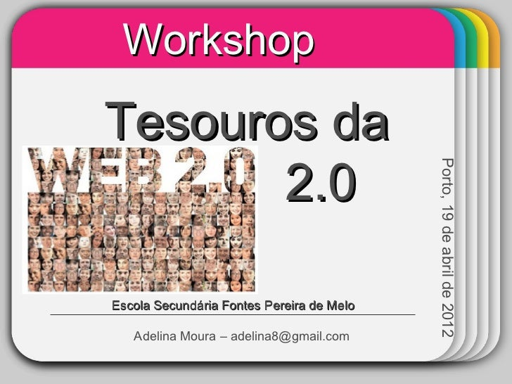 Workshop             WINTER Tesouros da   TemplateWeb     2.0                                             Porto, 19 de abr...