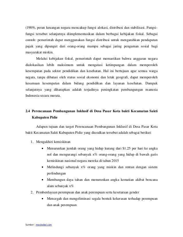 Sumber : masbabal.com (1989), peran keuangan negara mencakup fungsi alokasi, distribusi dan stabilisasi. Fungsi- fungsi te...