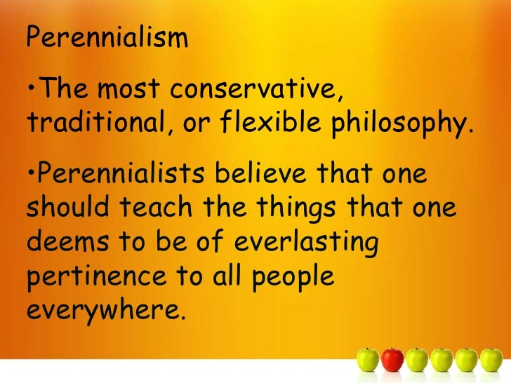 Perennialism and Curriculum | educational research techniques