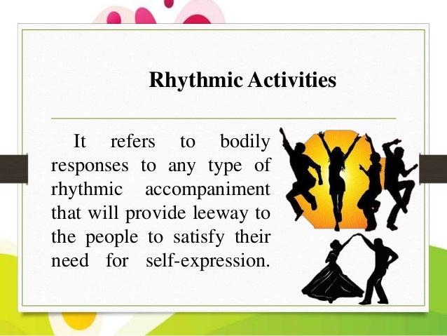 Quiz & worksheet types of rhythmic activities | study. Com.