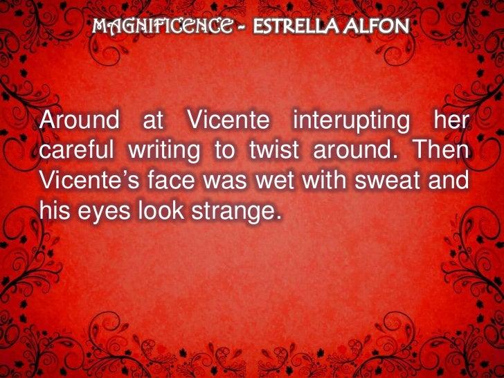 [Magnificence] by Estrella Alfon