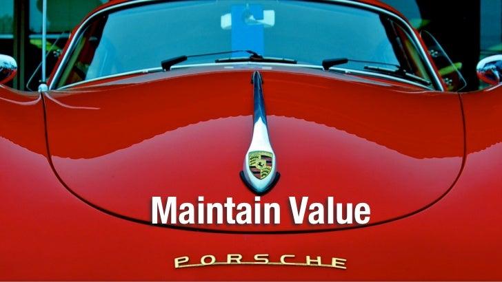 Maintain Value