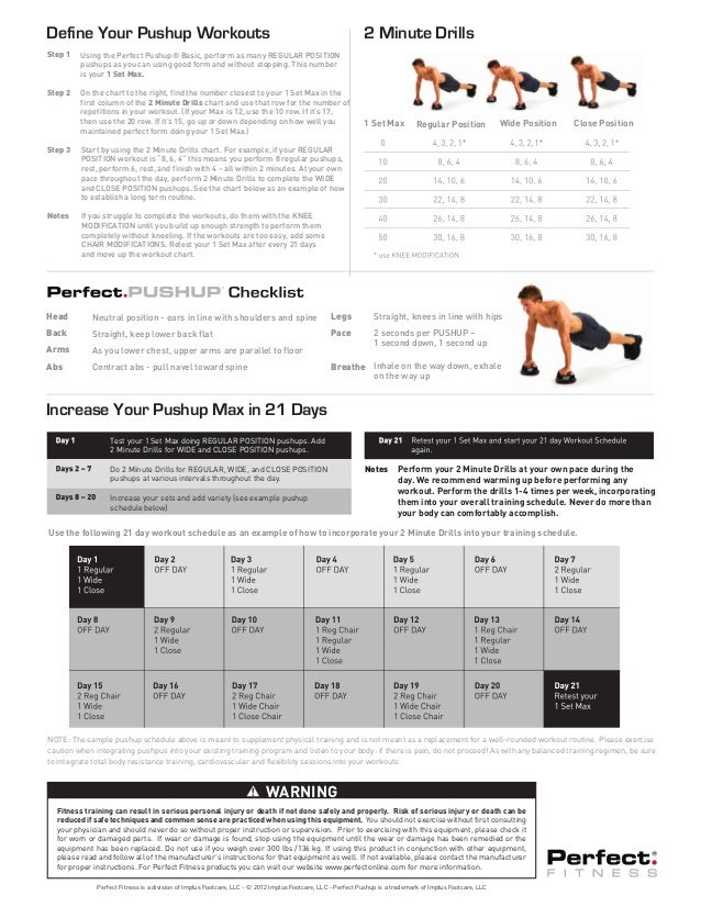 how to set up a workout schedule